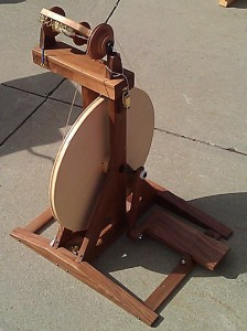 Picture of a spinning wheel