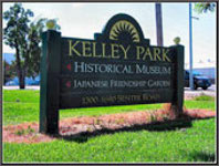 Sign for Kelly Park