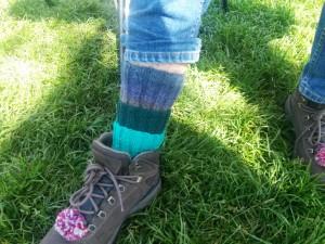 Nancy's Multi-Cuff Sock